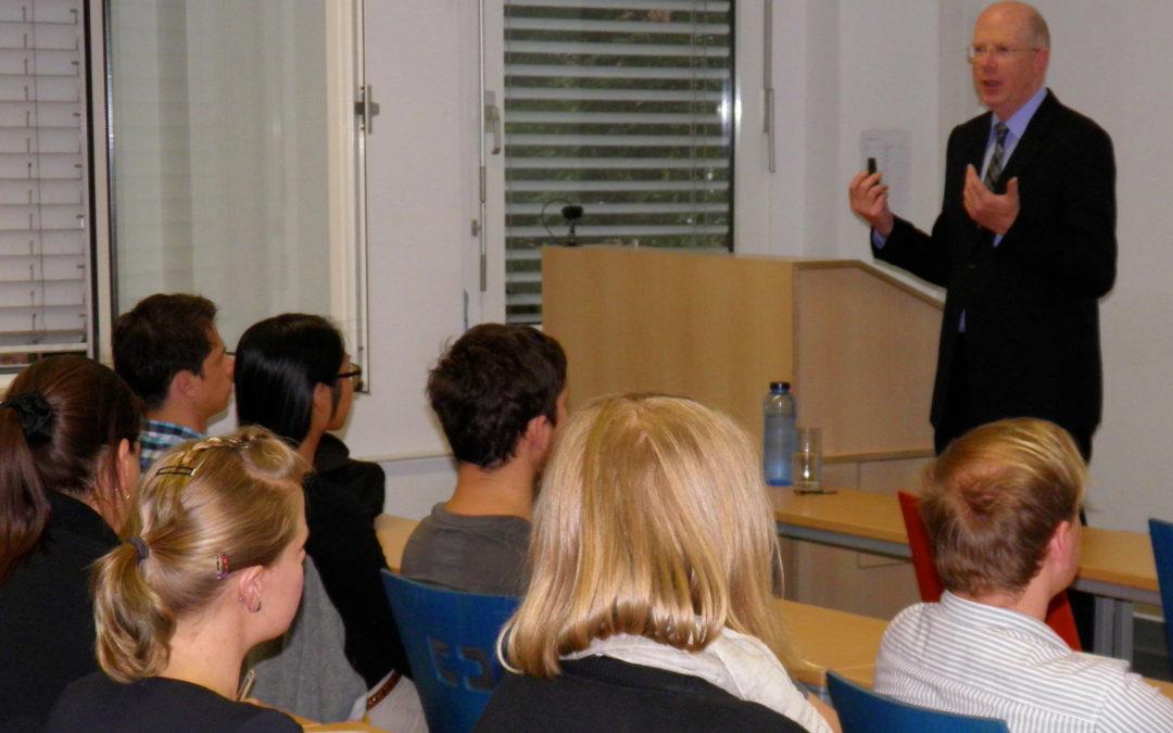 Hochschule Hamm-Lippstadt: Business Knigge Vorlesung