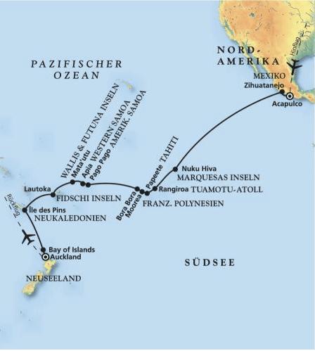 Neue Filmreise durch die Südsee