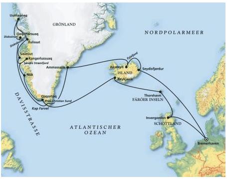 Filmreise nach Island & Grönland