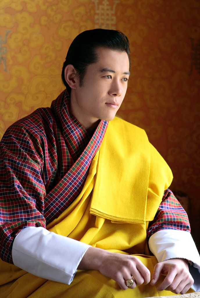 Von Royal Family of Bhutan - Modified version of Image:King Jigme Khesar Namgyel Wangchuck.jpg., CC BY-SA 3.0, https://commons.wikimedia.org/w/index.php?curid=5151092