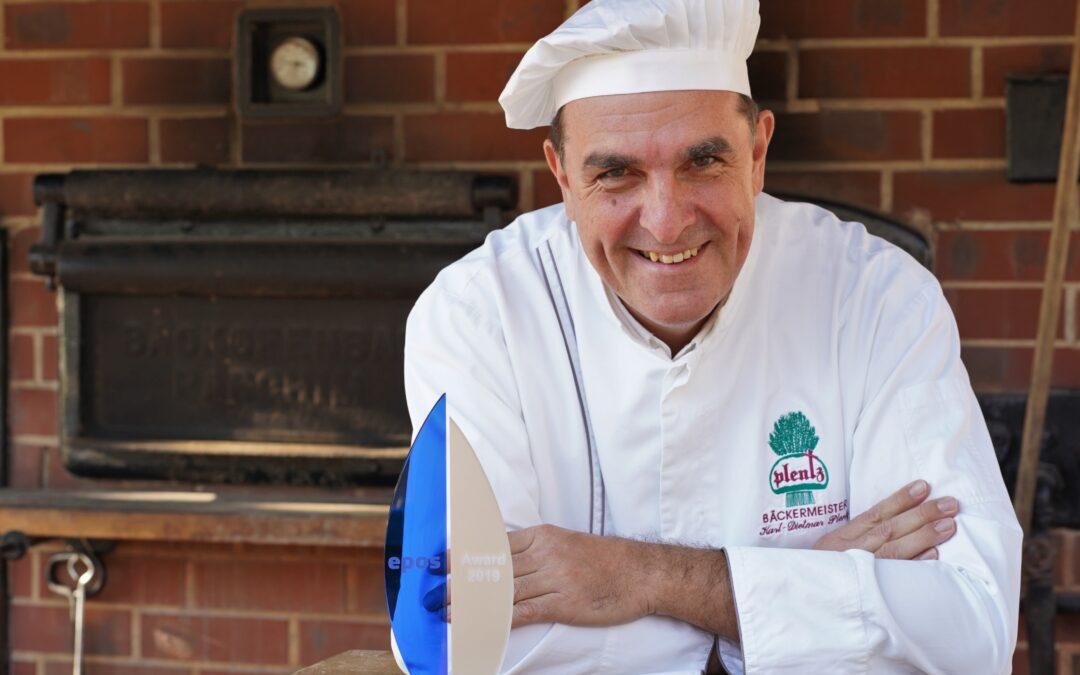 EPOS Award: Bäcker Plentz schreibt als Sinnstifter Geschichte