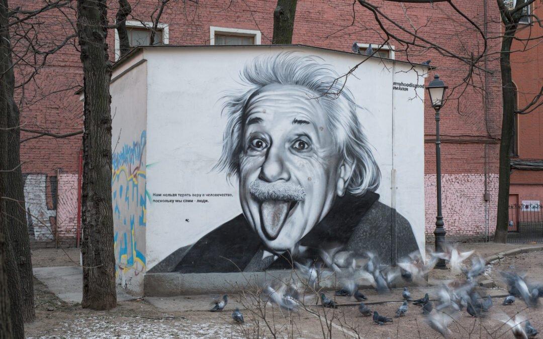Selbstvermarktung: Das Geheimnis des Albert Einstein