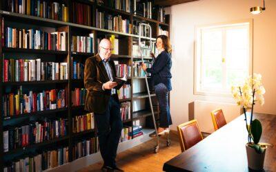 Bibliothek: Ein Blick in das Museum meiner Seele